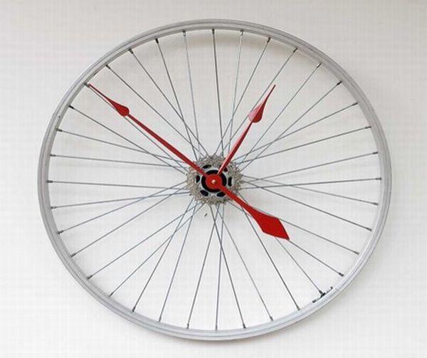 Recycled wall clocks