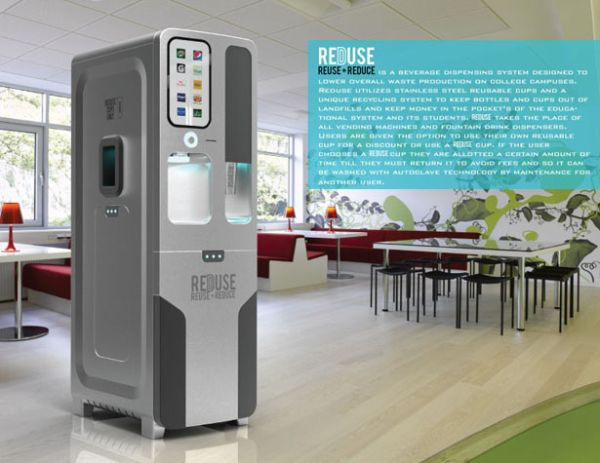reduse beverage dispensing system 1