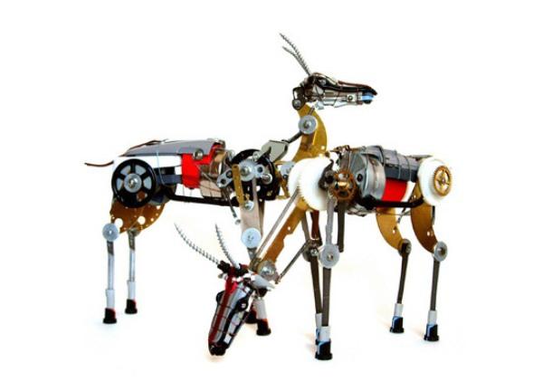 Robot Antelopes by Ann Smith