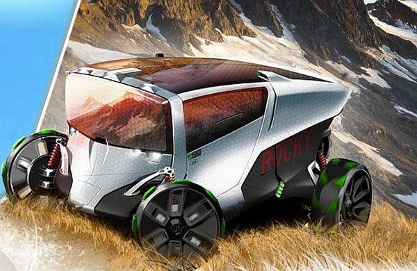 Rocky all-terrain vehicle