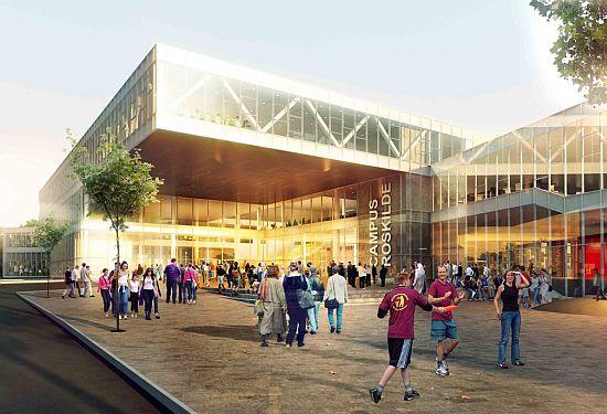 roskilde university center design henning larsen 1