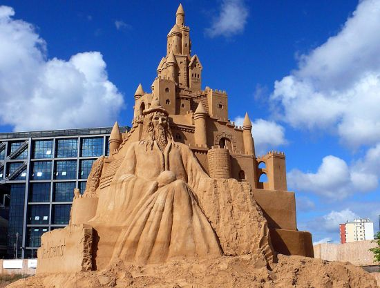 sand sculpture 6
