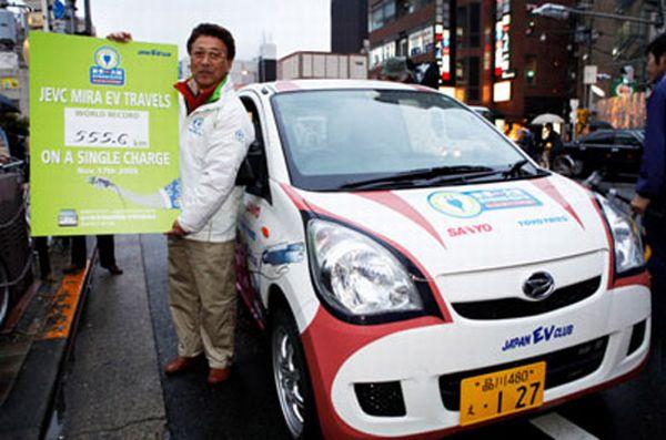 Sanyo battery powered Daihatsu Mira