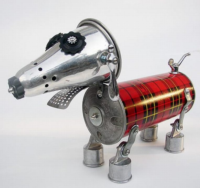 Scotty Robo Dog