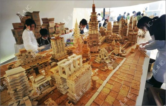 shanghai city made from sweets 9
