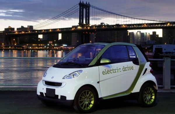 Smart Electric Drive compact car