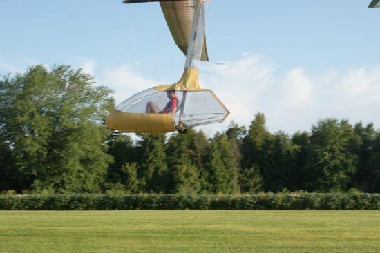 snowbird human powered aircraft 3