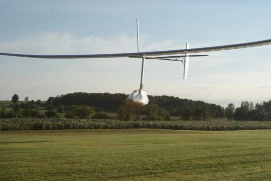 snowbird human powered aircraft 6