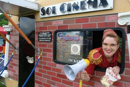 sol cinema solar powered movie house 3