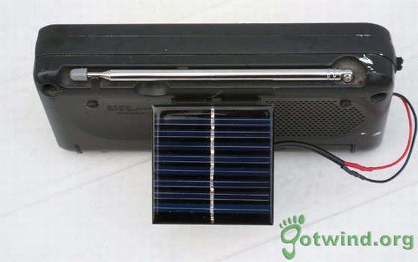 solar powered aadio 6