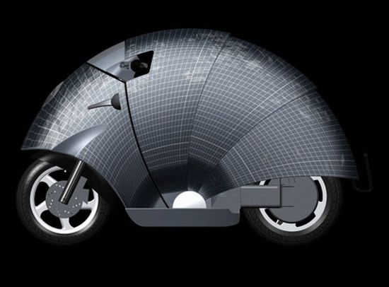 solar powered moped 2