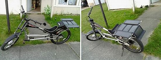 solar powered stilletto chopper