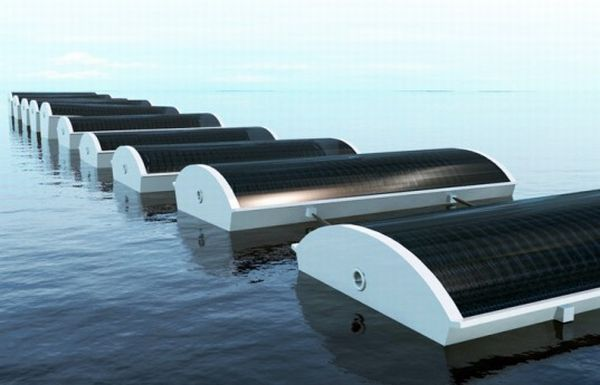 Solar Cucumber desalination plant
