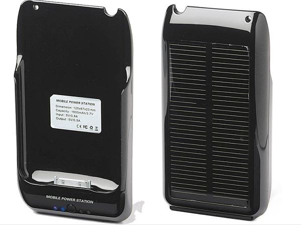 Solar iPhone Battery Case