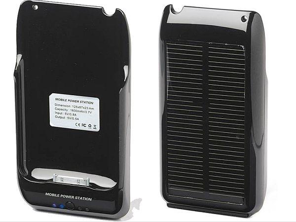 Solar iPhone Battery Case