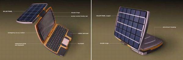 Solar notebook concept