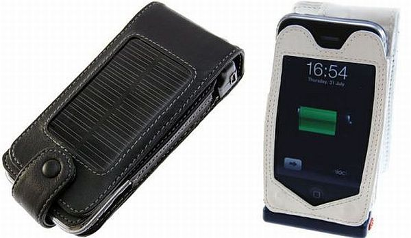 solar powered case