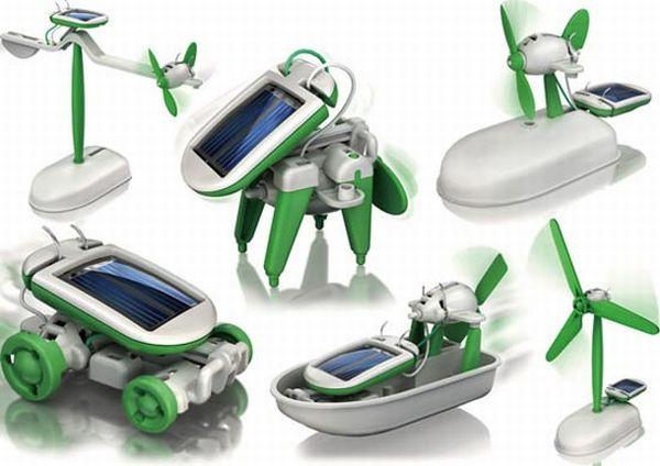 Solar Powered Robot kit