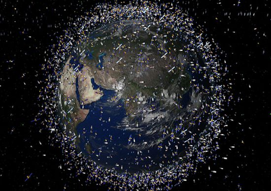 space junk gold