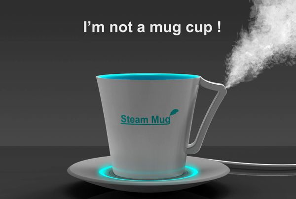 Steam mug by Young-Suk Kim