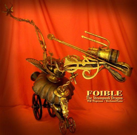 steampunk dragon robot 2