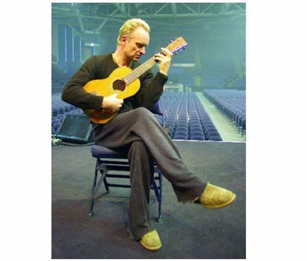 Sting's GREEN Guitar