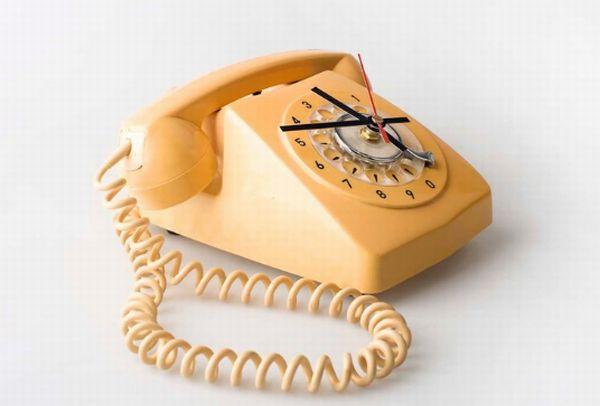 Telephone Clock 3