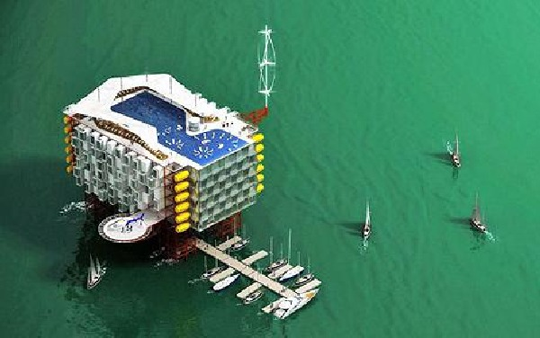 the Oil Rig hotel