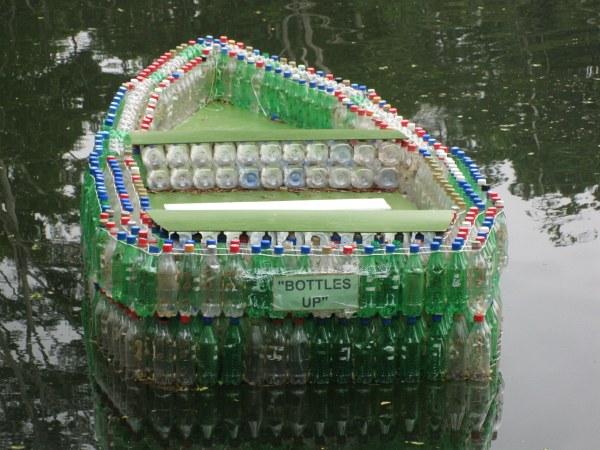 The Plastic Bottle Boat