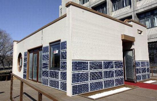 tianjin zero energy house for solar decathlon