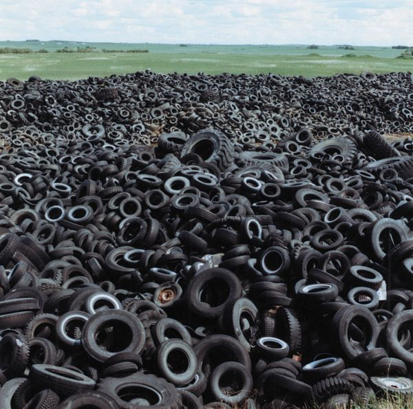 Tires recycling
