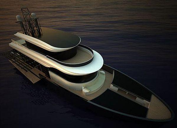 tritone 80 concept yacht