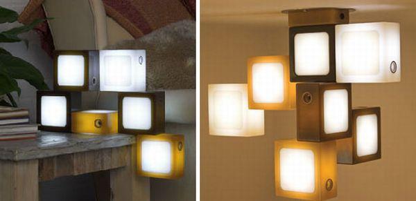 TwistTogether LED Block Lamps