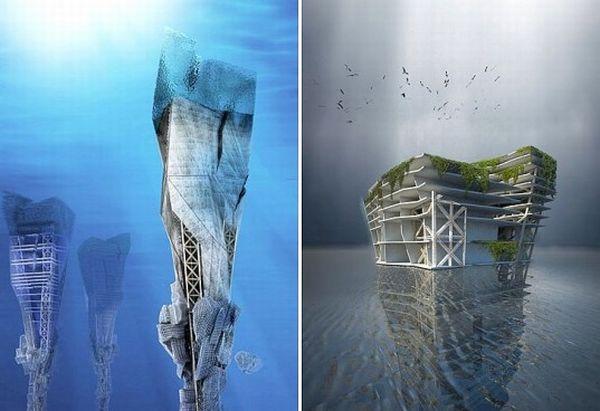 Underwater skyscrapers