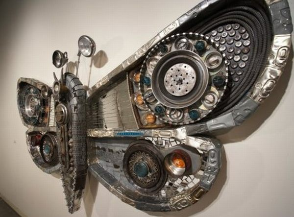 unique recycled creations