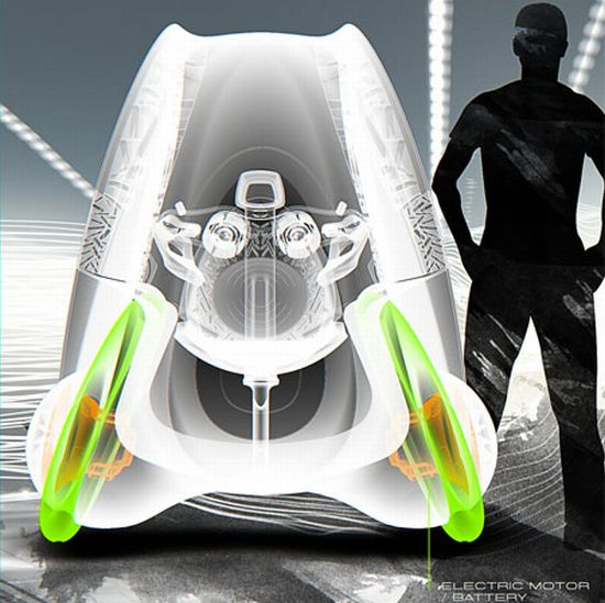 uvo concept fuel cell powered car 2