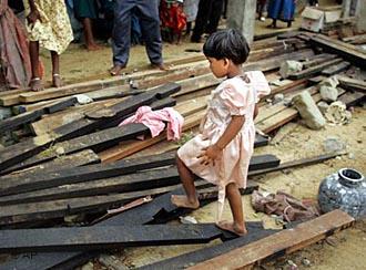 victim of la nina disaster
