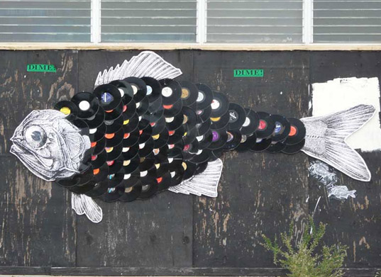vinyl wall art fish jaxpac