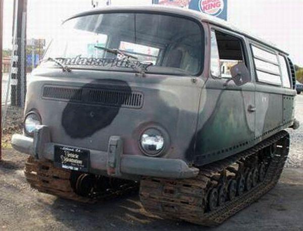 VW Camper Converted Into Tanker