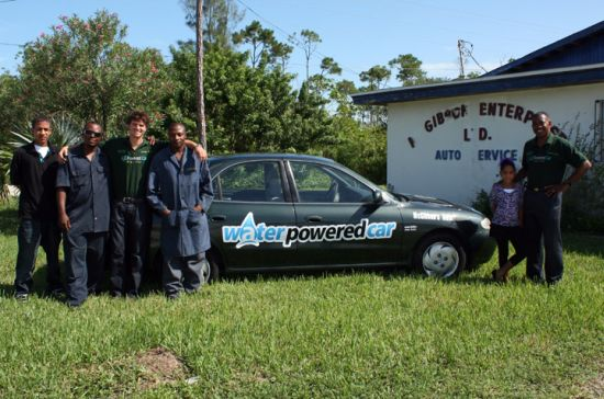water powered hybrid car 3