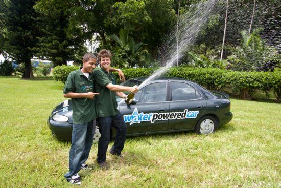 water powered hybrid car 5