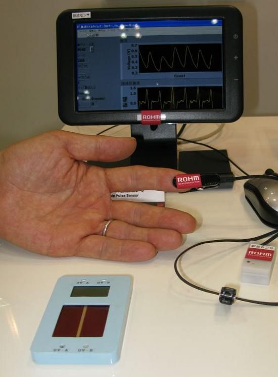 wearable pulse wave sensor