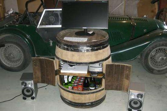 wine barrel cabinet 1