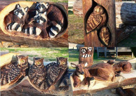 wooden sculptures 1