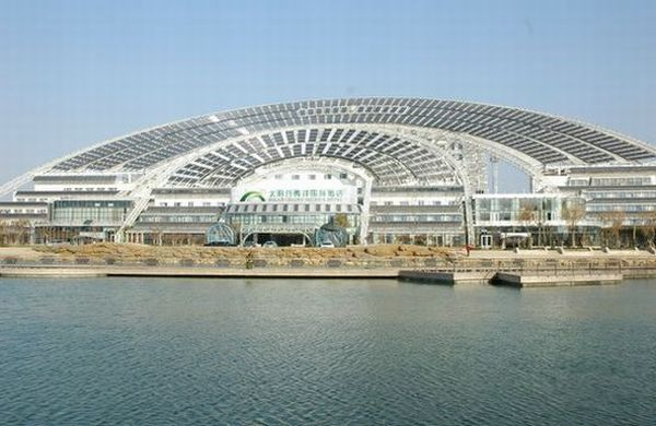 World's largest solar-powered office