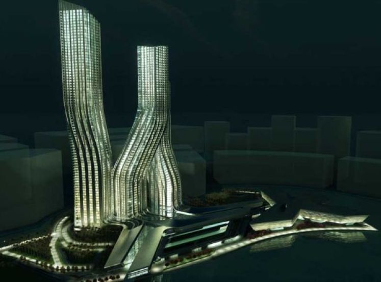 Zaha Hadid Dancing Towers