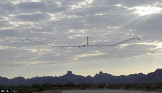 zephyr solar aircraft 1