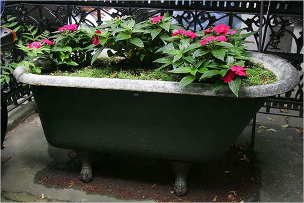 Seven Innovative Garden Planters Made Using Recycled
