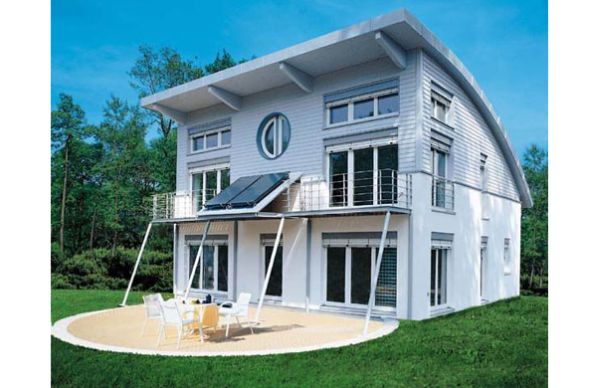 passive house for energy conservation