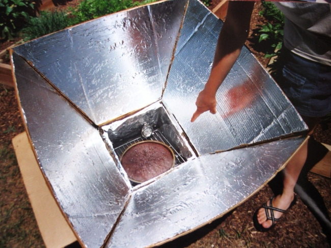 Five Coolest Diy Solar Ovens Green Diary Green
